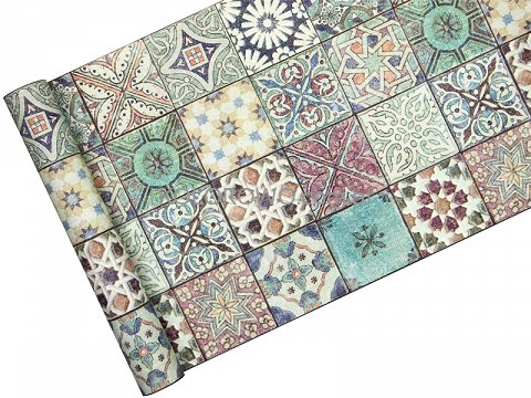 Tapeta ścienna 36205 1 Stara Kolorowa Mozaika